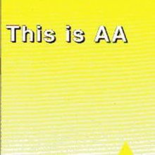 This is AA from Alcoholics Anonymous (Great Britain) Ltd