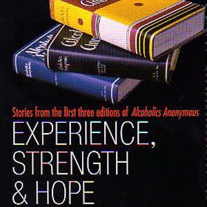 alcoholics anonymous experience Alcoholics anonymous® is a fellowship of men and women who share their experience, strength and hope with each other that they may solve their.