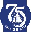 The AA 75th Logo