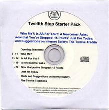 Audio 12th Step Starter Pack from Alcoholics Anonymous (Great Britain) Ltd