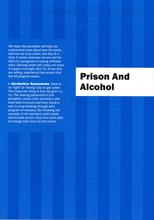 Prison And Alcohol from Alcoholics Anonymous (Great Britain) Ltd