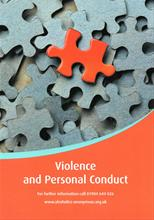 Violence and Personal Conduct from Alcoholics Anonymous (Great Britain) Ltd