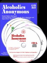 Alcoholics Anonymous Audio Edition 6 CD Set from Alcoholics Anonymous (Great Britain) Ltd