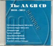 AA Service CD from Alcoholics Anonymous (Great Britain) Ltd