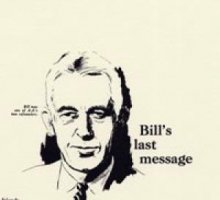 Bill`s Last Message Parchment from Alcoholics Anonymous (Great Britain) Ltd