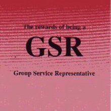 The rewards of being a GSR from Alcoholics Anonymous (Great Britain) Ltd
