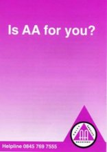 Is AA for you? from Alcoholics Anonymous (Great Britain) Ltd