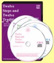 Twelve Steps & Twelve Traditions Audio 5CD Set from Alcoholics Anonymous (Great Britain) Ltd